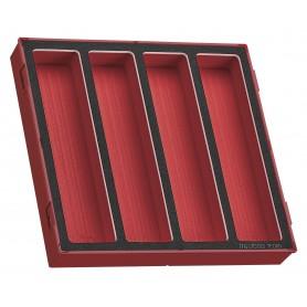 Lege EVA-tray 4 verdelingen Teng Tools TED00