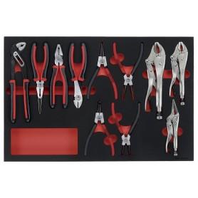 Tangenset 11dlg EVA-tray Teng Tools TTEMB11