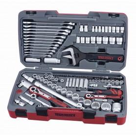 """Teng Tools TM127 Combiset 1/4"""" - 3/8"""" - 1/2"""" 127dlg"""