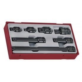 "accessoires slagdoppen 1/2"" ANSI Teng Tools TT9207A"