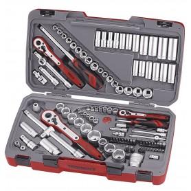 """Teng Tools TM111 Combiset 1/4""""-3/8""""-1/2"""" 111 dlg"""