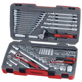 """Teng Tools TM106 Combiset 1/4""""-3/8""""-1/2"""" 106 dlg"""