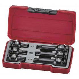 "Teng Tools T9206 6-delige Impact slagdoppenbitset 1/2"" XZN"