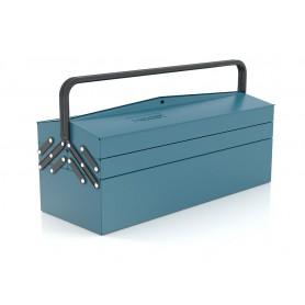 Gereedschapskoffer 5 compartimenten lengte 530mm Heco HE1087BL