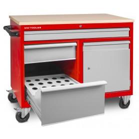 Gereedschapskar met 30 conehouders ISO 40 MW-Tools DEW12060L3