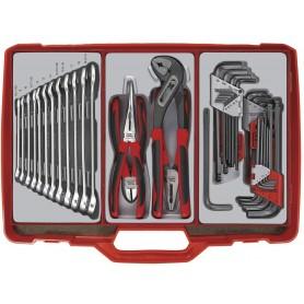 Gereedschapskoffer 44dlg Teng Tools TC306