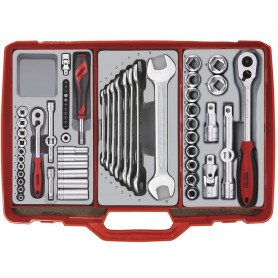 Gereedschapskoffer 61dlg  Teng Tools TC302