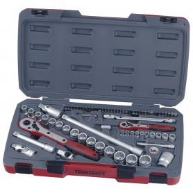 "Teng Tools T1272 Doppenset 1/4""-1/2"" 4-27mm 72 dlg"