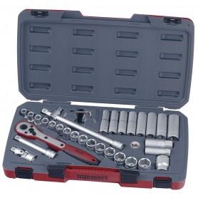 "Teng Tools T1234 Doppenset 1/2"" 11-24mm 34 dlg"