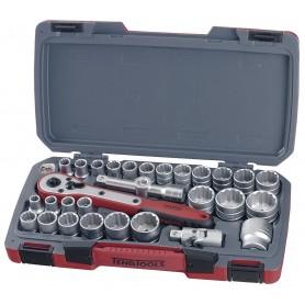 """Teng Tools T1230 Doppenset 1/2"""" mm/AF 30 dlg"""