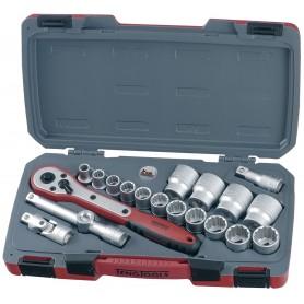 """Teng Tools T1220AF Doppenset 1/2"""" AF 20 dlg"""