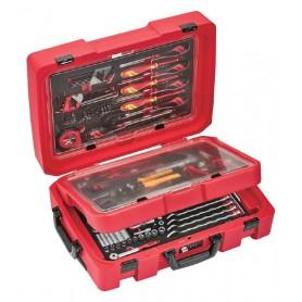 Draagbaar gereedschapsset EVA Teng Tools SCE1