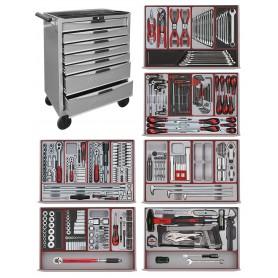 Gereedschapskar 445dlg Teng Tools HD Motorset 445NS