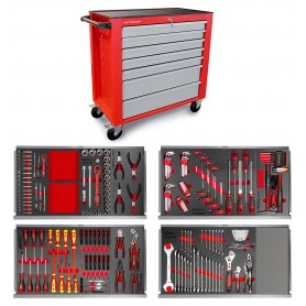Gereedschapswagen 211-dlg breed MW-Tools MWE211G2