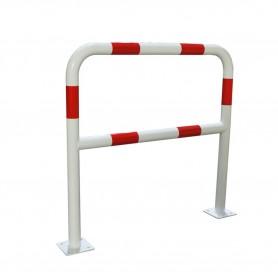 Veiligheidsbeugel wit/rood 1,5m ø40mm MW-Tools BHK40150WR