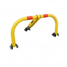 Parkeerbeugel geel driehoekig slot 11mm MW-Tools PST600SB