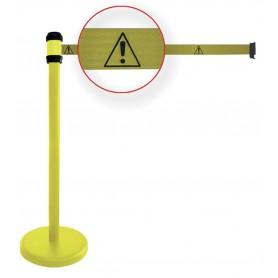 Afzetpaal met gevaarsteken MW-Tools AP102GEG