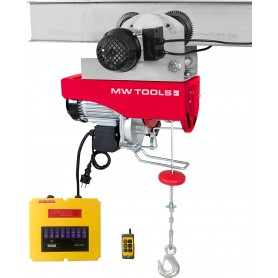 Elektrische takel 200/400 kg MW-Tools TH200-R
