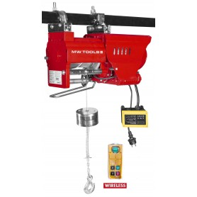 Takel 230V, draadloze afstandsbediening MW-Tools SL30040-R