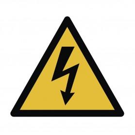 Waarschuwingssticker voor hoogspanning MW-Tools SAN500TELEC