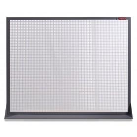 Perfopaneel metaal grijs 120x94cm MW-Tools DEKP120-1015