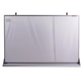 Perfopaneel metaal grijs 150x94cm MW-Tools DEKP150-1015