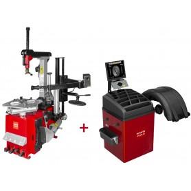 SET bandenwisselaar en balanceermachine BB500 MW-Tools BT300H SET4