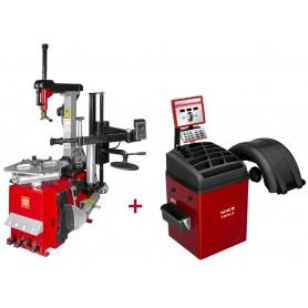 Set bandenwisselaar en balanceermachine BB350 MW-Tools BT300H SET3