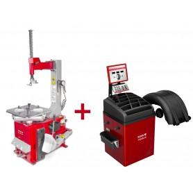 Set bandenwisselaar + balanceermachine  MW-Tools BT100M SET3