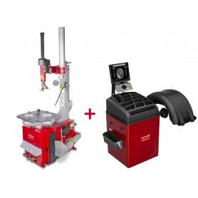 Set bandenwisselaar + balanceermachine MW-Tools BT200M SET3