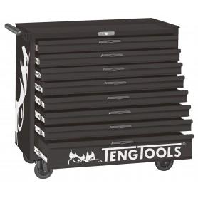 Gereedschapswagen BLACK 8 lades Teng Tools TCW208NBK
