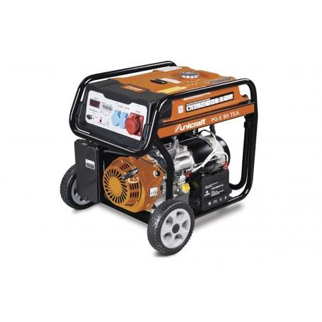 Outlet: Tweedekans nieuwstaat.: Benzine generator 7,0 kW