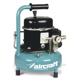 Geluidsarme Airbrush compressor 8 bar - 9 l Aircraft Airboy SILENCE 50 PRO