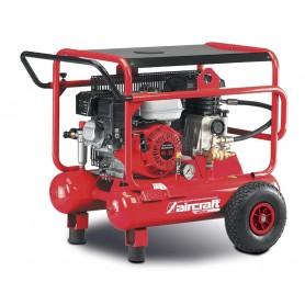 Mobiele benzine bouwcompressor 10 bar - 2x10 l Aircraft AIRCAR 500/20B
