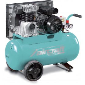 Riemaangedreven compressor 2 cil. 10 bar - 50 l Aircraft AIRSTAR 401/50E