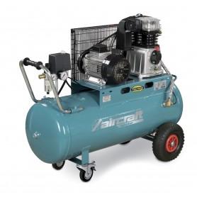 Riemaangedreven olie compressor 10 bar - 100 l Aircraft AIRSTAR 503/100