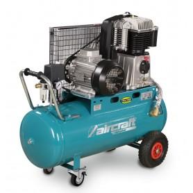 Riemaangedreven olie compressor 10 bar - 100 L Aircraft AIRSTAR 853/100