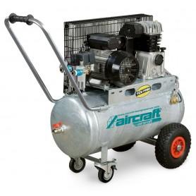 Riemaangedreven olie compressor verzinkte ketel 10 bar - 50 l Aircraft AIRPROFI 401/50