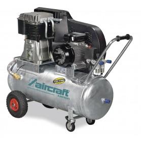 Riemaangedreven olie compressor verzinkte ketel 10 bar - 100 l Aircraft AIRPROFI 853/100