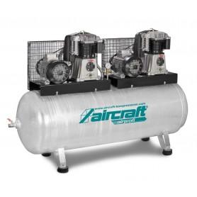 Zuigercompressor 10 bar - 500 l Aircraft AIRPROFI TANDEM 703/500/10H