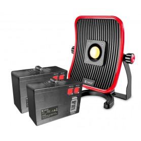 PACK 1 werklamp 50W en 2 losse accu's MW-Tools WFL50LI-PACK1