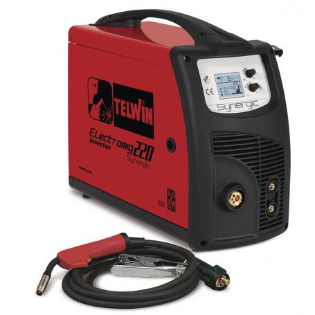 Outlet: Tweedekans nieuwstaat.: Inverter lasapparaat MIG-MAG 230 A - 1,2 mm