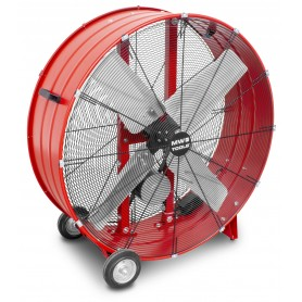 Riemaangedreven ventilator ø900mm 437W MW-Tools MV900LB