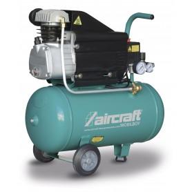 Mobiele compressor 8 bar 25L 113l/min Aircraft MOBILBOY 241/25 AC