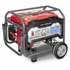 Benzine generator 230V 3,5kW manueel MW-Tools BG30M