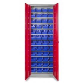 Bakjeskast met deuren MW-Tools DEBK48D