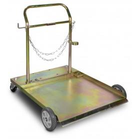 Trolley vaten 200L vet/olie/ADBlue met ketting MW-Tools VPOP200- TROLLEY