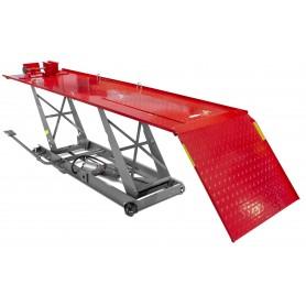 Moto hefbrug hydropneumatisch 450 kg  MW-Tools TPSL450