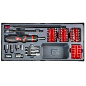 Bitsset 109-delig met flexibel handvat MW-Tools MWB109P
