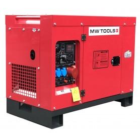 Diesel generator 10,0kW 1x230V + 3x400V MW-Tools DG100E
